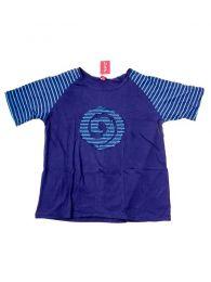 Camisetas T shirts - Camiseta de manga corta con CMEV12 - Modelo Azul