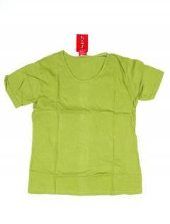 Camisetas Blusas y Tops - Camiseta de manga corta básica CMEV14 - Modelo Verde