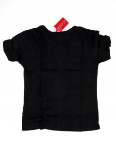 Camisetas Blusas y Tops - Camiseta de manga corta básica CMEV14 - Modelo Negro