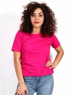 T-shirt basique en coton à acheter en gros ou détail dans la catégorie Vêtements Hippie Femme | Magasin alternatif ZAS [CMEV14].