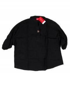 Camisetas Blusas y Tops - Camisola camisa amplina de CMEV15 - Modelo Negro