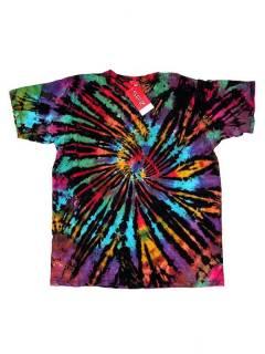 Camisetas T-Shirts - Camseta hippie tye dye [CMJU01] para comprar al por mayor o detalle  en la categoría de Ropa Hippie Alternativa para Hombre.