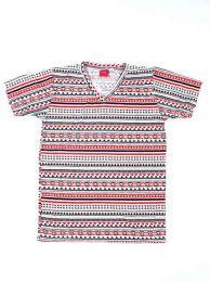 camiseta estampados étnicos, Mod 142