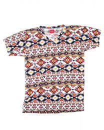 camiseta estampados étnicos, Mod 1411