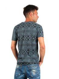 camiseta estampados étnicos, detalle del producto