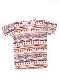 camiseta estampados étnicos, Mod 148