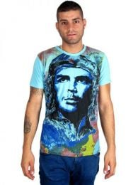 Mirror Che Guevara CMMI11B T-shirt to buy wholesale or detail in the category of Alternative Hippie Clothing for Men.