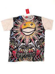 Camiseta 100% algodón Mod Crema