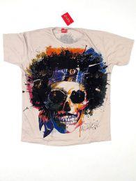 Camisetas T shirts - Camiseta 100% algodón CMMI18 - Modelo Crema