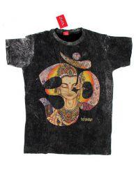 Camisetas T shirts - Camiseta 100% algodón CMNT04 - Modelo Negro