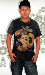 Camiseta No Time Om Shiva CMNT04 para comprar al por mayor o detalle  en la categoría de Ropa Hippie Alternativa para Hombre.