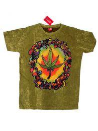 Camiseta 100% algodón Mod Verde