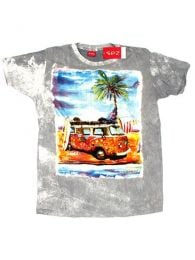 NoTime VW Bus Beach CMNT12 T-shirt to buy wholesale or detail in the category of Alternative Hippie Accessories.