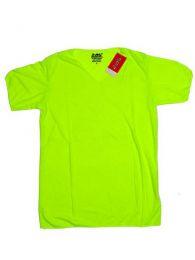 camiseta colores fluor chico. Mod Verde