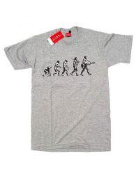 Camisetas T-Shirts - Camiseta de manga corta GUITAR CMSE07 - Modelo Gris