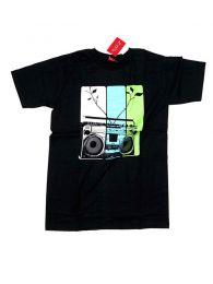 Camiseta Radio cassete CMSE12 para comprar al por mayor o detalle  en la categoría de Complementos Hippies Alternativos.