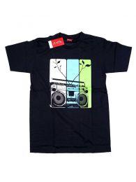 T-shirt com cassete de rádio CMSE12 para comprar por atacado ou detalhes na categoria de Roupas Alternativas Hippie para Mulheres.
