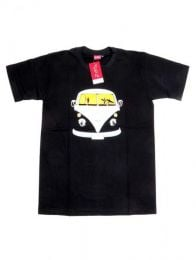 Volkswagen, camiseta algodón Mod Negro