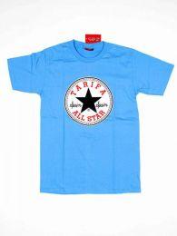 Camisetas T-Shirts - Camiseta de algodón CMSE27 - Modelo Azul