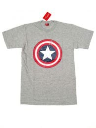 T-Shirts T-Shirts - Captain America T-Shirt [CMSE29] to buy wholesale or detail in the Hippie Clothing for Men category.