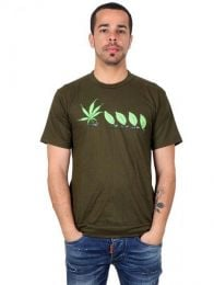 Camiseta Marijuana Form CMSE30 para compra no atacado ou detalhe na categoria Hippie Clothing for Men.