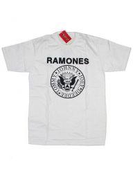 Camisetas T shirts - Camiseta de manga corta de CMSE40 - Modelo Blanco