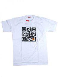 camiseta qr bitcoin trust. Mod Blanco