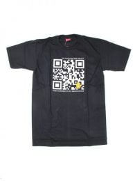 Qr bitcoin trust t-shirt. 100% cotton short sleeve t-shirt. CMSE42 to buy wholesale or detail in the Alternative Ethnic Hippie Outlet category.