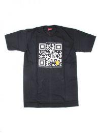 camiseta qr bitcoin trust. Mod Negro