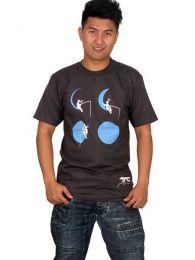 Camiseta Moon Fishing CMSE46 para comprar al por mayor o detalle  en la categoría de Ropa Hippie Alternativa para Hombre.