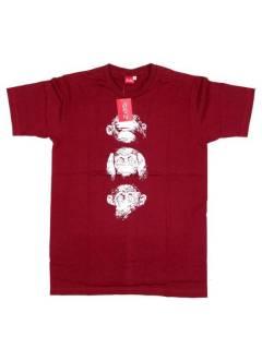 Camisetas T-Shirts - Camiseta de manga corta de CMSE48 - Modelo Granate