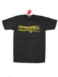 Camisetas T shirts - Camiseta de manga corta de CMSE50 - Modelo Negro