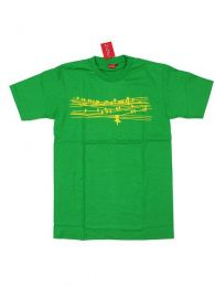 Camisetas T shirts - Camiseta de manga corta de CMSE50 - Modelo Verde