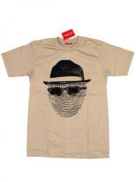 Camiseta de manga corta de Mod Marrón
