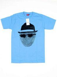 Camiseta de manga corta de Mod Azul
