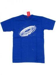 Camiseta de manga corta de Mod Azul roy