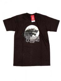 Camisetas T shirts - Camiseta de manga corta de CMSE63 - Modelo Marrón