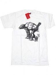 Camiseta de manga corta de Mod Blanco