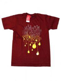 Camiseta de manga corta de Mod Granate