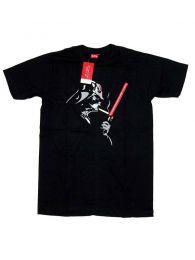 Camisetas T-Shirts - Camiseta Star War, Darth Vader CMSE68 - Modelo Negro