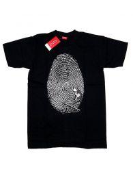 Camisetas T-Shirts - Camiseta manga corta Fingerprint CMSE71 - Modelo Negro