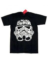Camisetas T-Shirts - Camiseta manga corta Stars CMSE72 - Modelo Negro