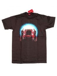 Camisetas T shirts - Camiseta manga corta Fuck CMSE75 - Modelo MarrÓn