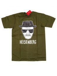 Camisetas T shirts - Camiseta manga corta Heisenberg CMSE77 - Modelo Verde