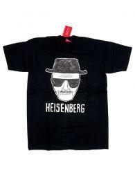 Camisetas T shirts - Camiseta manga corta Heisenberg CMSE77 - Modelo Negro