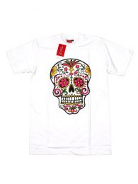 T-Shirts T-Shirts - Mexican CMSE78 Short Sleeve T-Shirt - White Model
