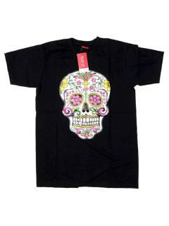 T-Shirts T-Shirts - Mexican Skull T-Shirt [CMSE78] to buy wholesale or detail in the Hippie Clothing for Men category.