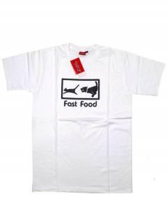 Camisetas T-Shirts - Camiseta manga corta Fast CMSE81 - Modelo Blanco