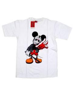 Camisetas T-Shirts - Camiseta manga corta Scary CMSE84 - Modelo White