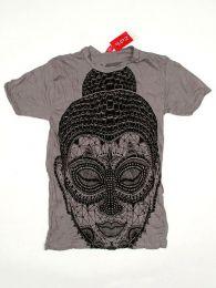 camiseta 100% algodón Mod Gris